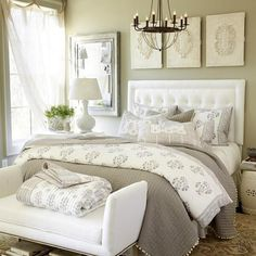 Top 100 Neutral Bedroom Ideas for couples master bedroom Bedroom Wall Decor Above Bed, Bedroom Wall Colors, Home Decor Bedroom, Bedroom Ideas, Neutral Bedrooms, Guest Bedrooms, Awesome Bedrooms, Beautiful Bedrooms, Romantic Bedrooms