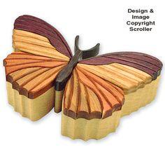 Butterfly Box #2 Project Pattern