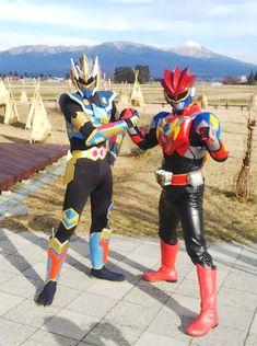 Couples Cosplay, Kamen Rider, Superhero, Armors