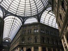 Galleria Umberto (shopping center) in Naples, Italy