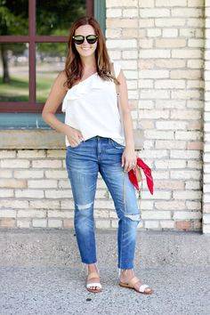 my everyday style: the summer one! (The Good Life For Less) Chic Summer Style, Preppy Style, My Style, Classic Style, Cool Outfits, Summer Outfits, Denim Outfits, Women's Summer Fashion, Summer Fashions