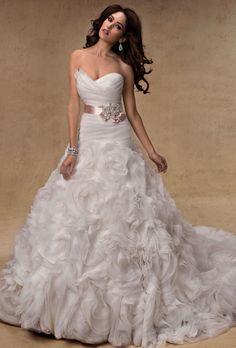 Brides: Maggie Sottero : My wedding dress designer :)