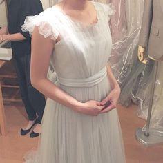 #ドレス試着#プレ花嫁#結婚準備 #weddingdress #maisonsuzu
