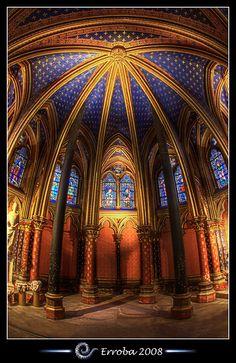 St Chappelle, Paris, FR | Sainte Chapelle, Paris, France :: HDR :: Fisheye | Flickr - Photo ...