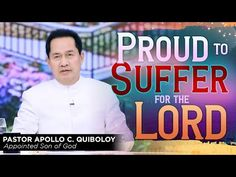 'Proud to Suffer for the Lord' by Pastor Apollo C. Spiritual Enlightenment, Spirituality, Table Of Contents Design, Hanging Planter Boxes, Cute Dog Wallpaper, Kingdom Of Heaven, Son Of God, Phone Wallpapers, Apollo