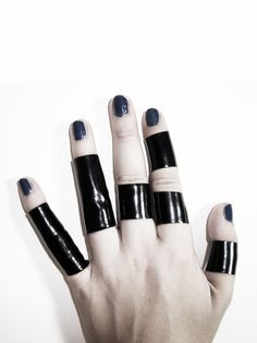 Rannka black shield long PVC water proof latex stretch unisex ring.     Production time.  5 days.     Material.  Black shiny spandex PCV, thin black coating. Stretch. Waterproof.     Size.  Unisex. Sizes available from 5-13, please ...