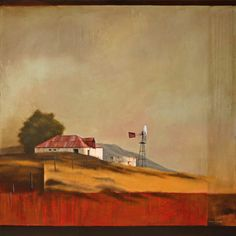 Prints Available - Donna McKellar South African Artists, Postmodernism, Windmill, Landscape, Gallery, Artwork, Prints, Image, Passion