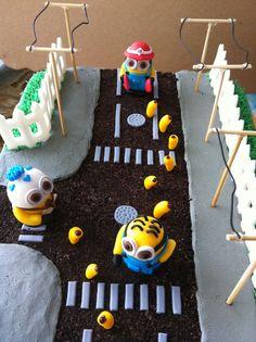 Minion Rush cake