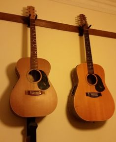 Handy Picture Rail Guitar Hanger No Need To Screw Into