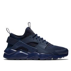 Nike Air Huarache Run Ultra Breathe (dark blue / dark blue) - Free Shipping starts at 75€ - thegoodwillout.com