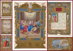 Artesplorando: Il Lezionario Farnese Miniature, Frame, Home Decor, Picture Frame, Decoration Home, Room Decor, Miniatures, Frames, Home Interior Design