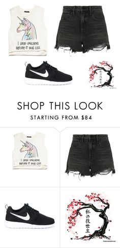 """""""12 March"""" by llondonslove on Polyvore featuring moda, Forever 21, Alexander Wang i NIKE"""