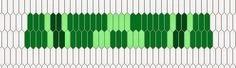 ASpinnerWeaver: Inkle Weaving Color Strategy- Monochromatic