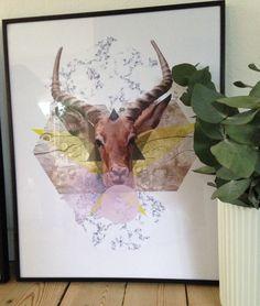 #maingraphicartwork.dk - framed Artwork 40x50