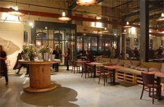 Cafe restaurant Stork, Amsterdam, 2011