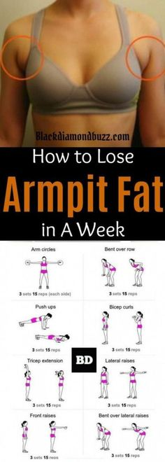 Fat Fast Shrinking Signal Diet-Recipes - Arm fat workout How to get rid of armpit fat and underarm fat bra in a week .These arm fat exercises will make you look sexy in your strapless dress and your friends will be jealous. Try it you do not have anyth # Reto Fitness, Body Fitness, Fitness Diet, Fitness Motivation, Health Fitness, Workout Fitness, Sport Motivation, Video Fitness, Exercise Motivation