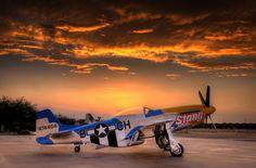 P-51 Sunset
