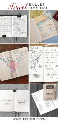 18 Inspiring Travel Planning Bullet Journal Layouts – My CMS Bullet Journal Voyage, Bullet Journal Work, Bullet Journal Travel, Bullet Journal Inspiration, Travel Inspiration, Bullet Journals, Travel Ideas, Roadtrip Journal, Best Travel Journals