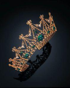belle epoque emerald tiara