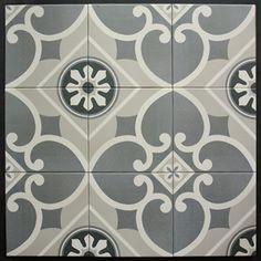 Serie Caprice, patroon Chatelet, 20 x 20 cm, Equipe - Goedkoop bij TegelDeal. Hallway Colours, Hacienda Style, Porcelain Tile, Natural Stones, Tile Floor, Toilet, Restaurant, Ceramics, Texture
