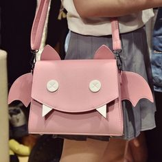 Bat shoulder bag