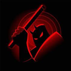 """Guardian Devil The Animated Series"" by RyanAstle is $10 today at ShirtPunch.com (08/11). #tshirt #Daredevil #MattMurdock #BatmanTheAnimatedSeries #MarvelComics #Superhero"