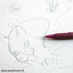 Sneak Peek Sketch - Mixed Animals