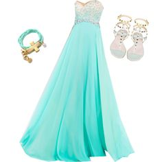 Prom Outfit by tabitha-splitstone on Polyvore featuring polyvore fashion style Blush Prom