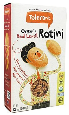 Save on Organic Red Lentil Rotini by Tolerant and other Pasta, Gluten-Free Pasta and Non-GMO remedies at Lucky Vitamin. Shop online for Food & Snacks, Tolerant items, health and wellness products at discount prices. Tolerant Pasta, Black Bean Pasta, Gourmet Recipes, Healthy Recipes, Lentil Pasta, Lentils And Rice, Wheat Pasta, Pasta Shapes, Food Crush
