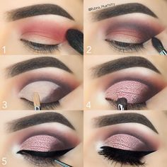 "23.1k Likes, 155 Comments - R U B I N A (@rubina_muartistry) on Instagram: ""#stepbystep @motivescosmetics Eyeshadows in Winter Nights on the crease, Vino on the outer V,…"""