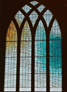 Stained glass window - Reedhan Church, Norfolk, England