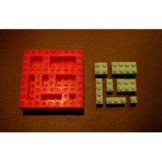 Building Block Silicone Mold for Your lego theme cake Flexible