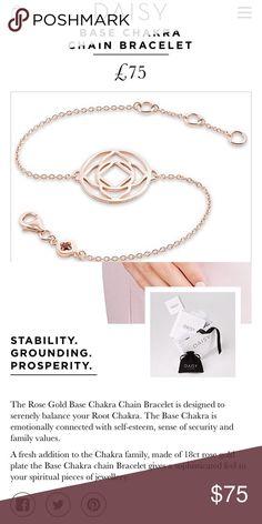 Selling this Daisy London Base Chakra 18ct Rose Gold on Poshmark! My username is: jaxnhuey. #shopmycloset #poshmark #fashion #shopping #style #forsale #daisy london #Jewelry