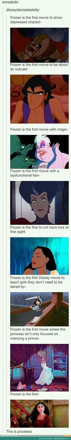 Frozen fanbase -_-