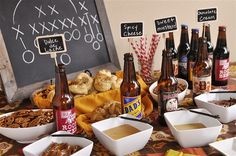 Pretzel Dipping Sauces and Football Party ideas with Cost Plus World Market -  @yourhomebasedmom.com >> #WorldMarket