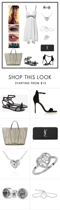 """""""Untitled # 175"""" by binasa87 ❤ liked on Polyvore featuring Jane Norman, Ted Baker, Sergio Rossi, Yves Saint Laurent, Kobelli, Bling Jewelry, Charlotte Tilbury and OPI"""