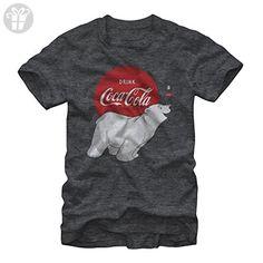 Coca Cola Polar Bear Mens Graphic T Shirt (*Amazon Partner-Link)
