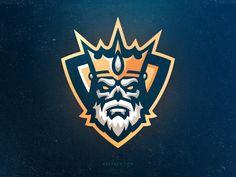 Hail to the King esports mascot logo crown king skull King Design, Design Art, Logo Design, Fantasy Football Logos, Gaming Logo, Fantasy Logo, Esports Logo, E Sport, Cool Logo