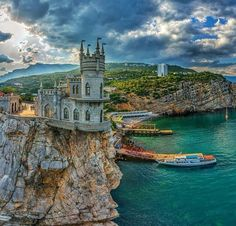 Swallow's Nest, Russia.