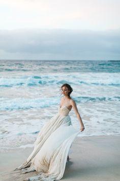 Inspiration: Senara in Hawaii. Dress: CAROL HANNAH SENARA | Photography:MATTHEW REEof CLY BY MATTHEW| Styling & floral design:DESIGNS BY HEMINGWAY| Rings:TRUMPET AND HORN|hair + makeup:ALISON HAYASHI