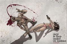 girls vs zombies 2