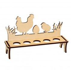 "Пасхальная подставка ""Курица и цыпленок"" на 5 яиц"