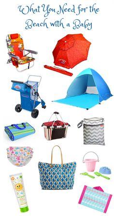 baby and toddler beach gear essentials | Toddler beach, Beach gear ...