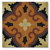 "Found it at Wayfair - Tanger 8"" x 8"" Handmade Cement Tile in Multi-Color"