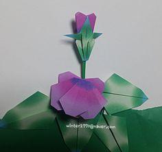 봄이야기~ 팬지꽃 종이접기 : 네이버 블로그