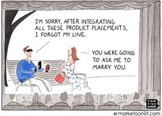 Marketoonist is the thought bubble of Tom Fishburne. Marketing cartoons, content marketing with a sense of humor, keynote speaking. Content Marketing, Social Media Marketing, Friday Humor, Funny Friday, Thought Bubbles, Marry You, Toms, Challenges, Cartoon