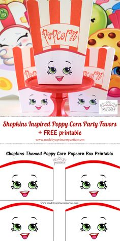shopkins inspired poppy corn party favor pin it