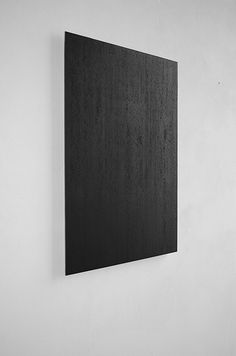 Frank Gerritz, Dark Space, 2012  Wish this was a giant piece of floating charcoal just as thin