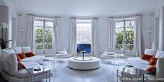 This 320 sq.m. furnished Paris Apartment located on avenue Foch, Paris 16th arrondissement - District Champs Elysées