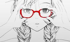 Ah, glasses. A girl's best friend.